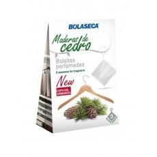 BOLASECA BOLSITAS PERFUMADAS 3 x 10 GR CEDRO