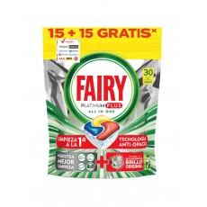 FAIRY CAPS PLATINUM PLUS 15 + 15 LIMON