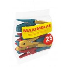 NEOLAR PINZAS MAXIMOLAS 25 UDS. PLASTICO