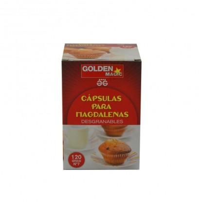 GOLDEN CAPSULAS MAGDALENAS CAKE EST.120U