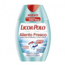 LICOR POLO 2 EN 1 ALIENTO FRESCO 75 ML.