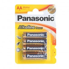 PANASONIC PILAS ALCALINAS LR6 POWER BLT.