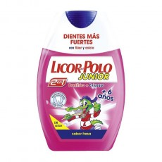 LICOR POLO 2 EN 1 JUNIOR FRESA+6A 75 ML