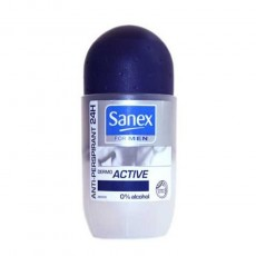 SANEX ROLLON FOR MEN ACTIVE 50 ML