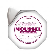 MOUSSEL GEL DOUCHE CREME 600 ML.