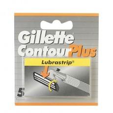 GILLETTE CONTOUR PLUS CARGADOR 5 UDS.