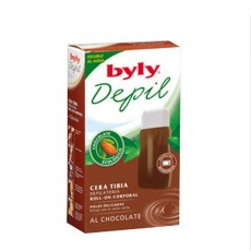 BYLY BANDAS DEPILATORIAS FACIALES CHOCOLATE 12 UDS