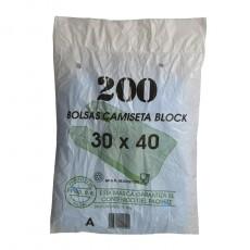 BOLSA CAMISETA 30X40 200 UD