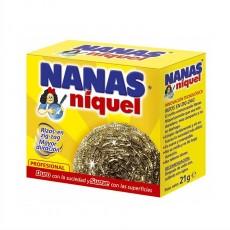 NANAS NIQUEL ESTROPAJOS GDE.21GR
