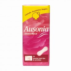 AUSONIA ANATOMICA NORMAL 14 UDS.