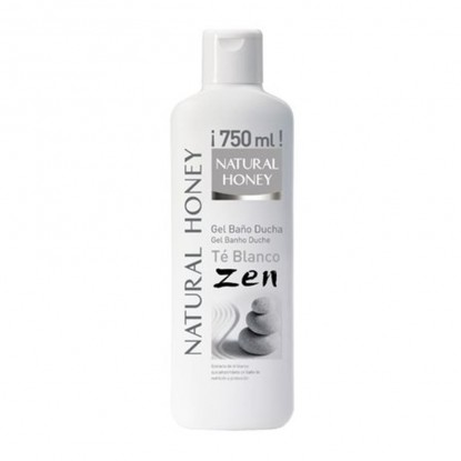 NATURAL HONEY GEL ZEN C/TE BLANCO 750 ML