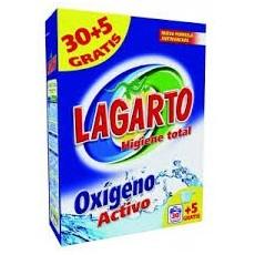 LAGARTO DETERGENTE 30+5 CACITOS MALETA
