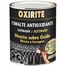 OXIRITE ESMALT.ANTIOX.SATINAD.NEGRO 750
