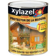 XYLAZEL LASUR SOL SATINADO NOGAL 750 ML.