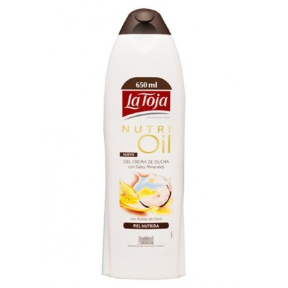 LA TOJA GEL 550 ML. NUTRI OIL COCONUT