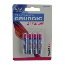 GRUNDIG PILAS ALKALINE LR03 AAA