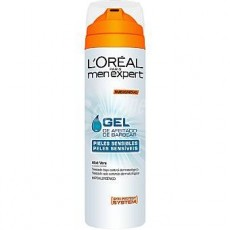 l'oreal men expert gel afeitar hydra sensitive 200 ml.