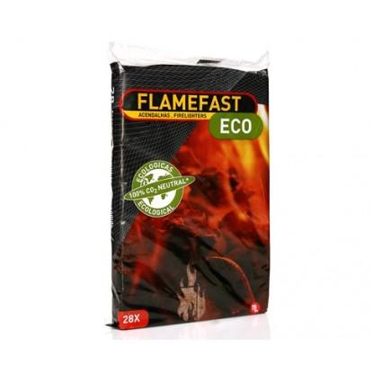 FLAMEFAST ACENDALHAS ECOLOGICAS 28 UDS.