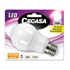 cegasa led estandar 6,3 w calida