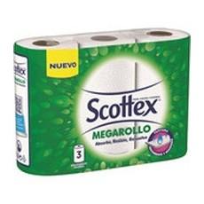 SCOTTEX PAPEL COCINA 3+1 ROLLOS