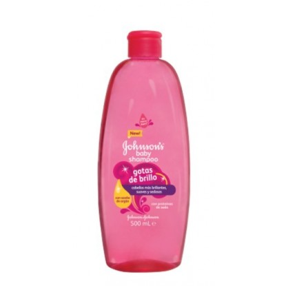 JOHNSON CHAMPU GOTAS BRILLO 500 ML.