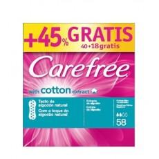 CAREFREE SALVASLIP TRANSPIRABLE 40+18 UD