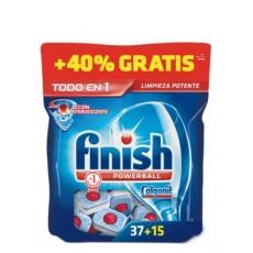 FINISH PASTILLAS 37+15 UDS. TODO EN 1