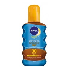 NIVEA 200 ML ACEITE PROTEGR & BRONCE F30