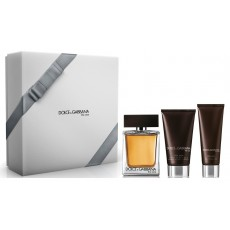 DOLCE & G.THE ONE MEN EDT 100+BALM+GEL