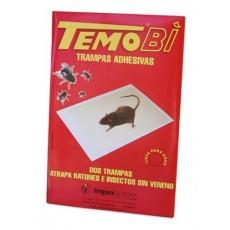 TEMOBI RATICIDA TRAMPAS DUPLOS