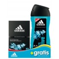 ADIDAS MEN ICE DIVE EDT 50 ML + GEL 250