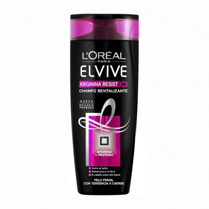 ELVIVE CHAMPU 370 ML. ARGININA RESIST X3