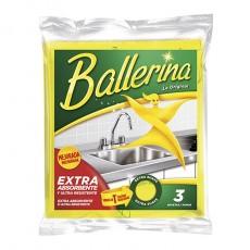 BALLERINA BAYETA MICROFIBRAS 3 UNIDADES