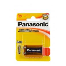 PANASONIC PILAS ALCALINAS 6LR61 POWER BL