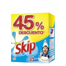 SKIP POLVO ACTIVE CLEAN 72 CACITOS ANIVE