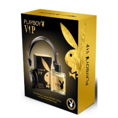 PLAYBOY MEN VIP EDT 100 VAPO+HEADPHONES