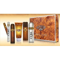 CUBA MUST HAVE GOLD EDT SET