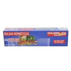 GOLDEN BOLSAS CONGELACION HERMETICA 20 UDS
