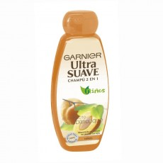 ULTRASUAVE 2EN1 NIÑOS ALBARICOQUE 400 ML