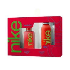 NIKE MAN RED 100 ML. EDT+DEO. 200 ML.
