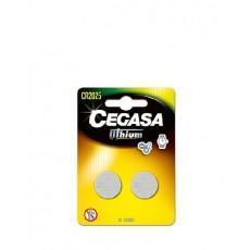 CEGASA PILAS LITIO CR2025 2 UDS