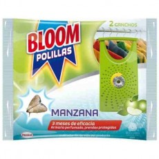 bloom gancho antipolillas manzana 2 uds