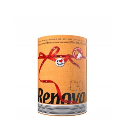 RENOVA RED LABEL PAPEL COCINA 1U. ORANGE