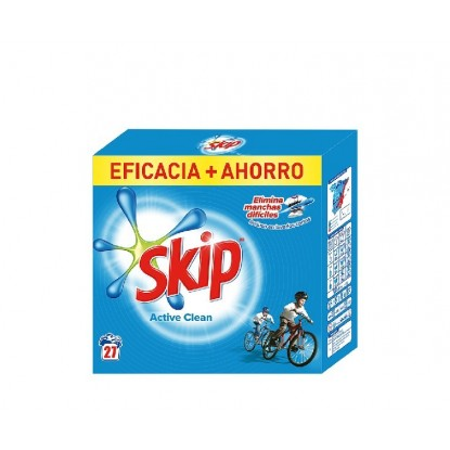SKIP POLVO 27 CACITOS ACTIVE CLEAN