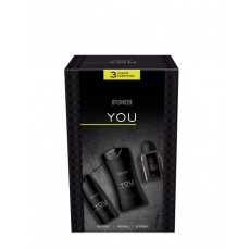 AXE CAJA TRIO YOU (DEO+GEL+AFTERSHAVE)