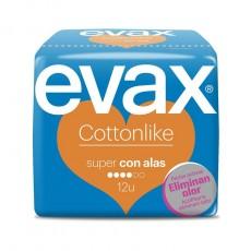EVAX COTTONLIKE SUPER ALAS 12 UDS.