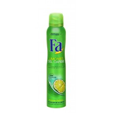 fa desodorante spray caribean lemon 200 ml