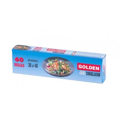 GOLDEN BOLSAS CONGELACION 30X40 60 UD.