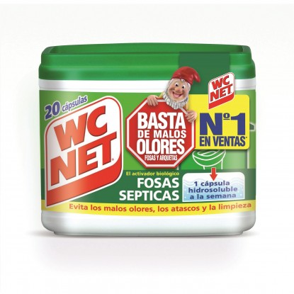 WC NET FOSAS SEPTICAS 20 BOLSITAS