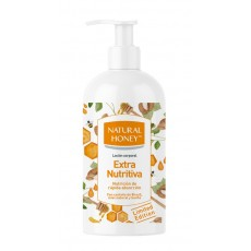 natural honey locion extra nutritiva dosificador 400 ml